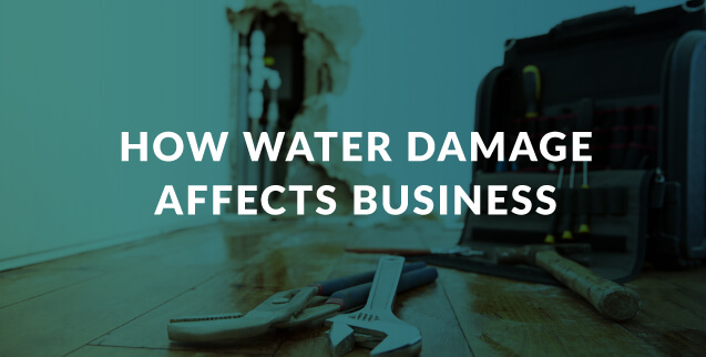 How Water Damage Affects Business