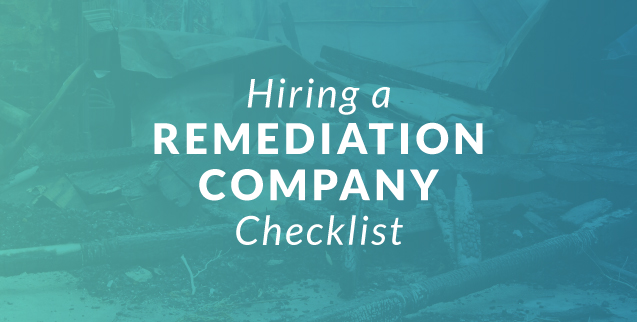 Hiring a Remediation Company Checklist