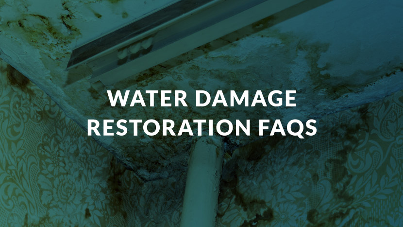 Water Damage Restoration FAQs